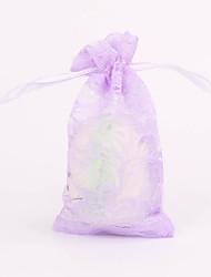 Purple Favor Bags - Set of 12