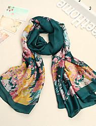 Bully European Fashion Silk Long Scarf YWBZS109