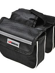 Akazien 600d Polyester-Gewebe aus 210D Polyester-Futter schwarz eva Fahrradrahmentasche