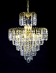 SL® European-Style Luxury 6 Lights Chandelier In Crown Shape