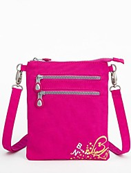 Women 's de alta calidad de la manera impermeable de nylon bolso de Crossbody del mensajero