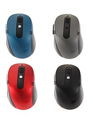 Fashion Pot-bellied 6 Button 2.4GHz Wireless Optical Mouse for Home or Office Use (Assorted Colors)