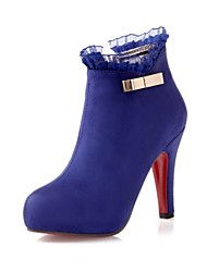 Women's Stiletto Heel Round Toe Ankle Boots (More Colors)