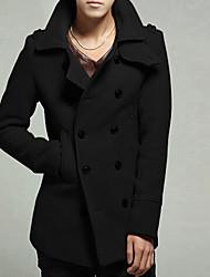 Dailun Heren All-Match Slim Tweed Mantel