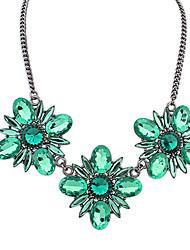 до драгоценный камень цветок ссылка ожерелье женщин