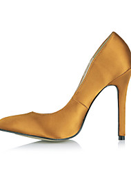 Women's Wedding Shoes Heels/Pointed Toe Heels Party & Evening Black/Blue/White/Orange