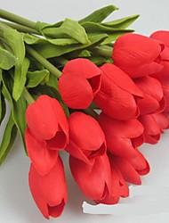 PU The Simulation Of  Mini Tulip,10 pcs