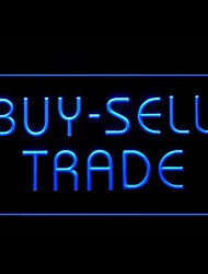 Buy Sell Trade Advertising LED Light Sign
