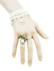 Coolshine Kugel Fashion Design barcelet Mit Rings-2014-201-LSL055