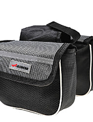 ACACIA 600D Polyester Fabric 210D Polyester Lining Gray EVA Bike Frame Bag