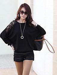 Michaela Lace Leisure Loose Long Sleeved Shirt