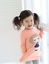 Girl's Fashion T-Shirts  Lovely Long Sleeve T-Shirts