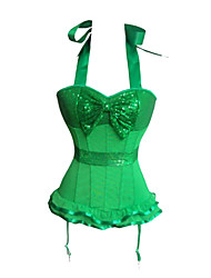 Queen Club Deluxe Sequin Bow Sweet Lolita Corset