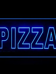 Pizza Italian Food Green Blue Red White Orange Purple Yellow Advertising LED Light Sign