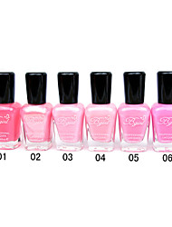 French Imports Makings Pro-environment Nail Polish NO.1-6(16ml,Assorted Color)