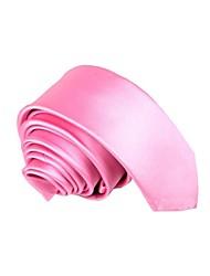 Versión impermeable rosa estrechos lazos de los hombres