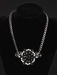 collana di diamante della moda vera gemma di lusso a breve