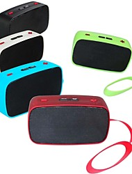 KB-200 Mini Speaker sem fio Bluetooth Suporta cartão TF com Handsfree e FM
