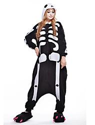 Nouveau Cosplay squelette de crâne Polaire adulte Kigurumi pyjama