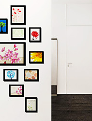 Blumen-Art-Foto-Wand-Frame Collection - Satz von 10