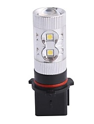 P13W 60W 12xLED SMD 650LM 6500K Белый свет LED для автомобиля Foglight фары (DC12-24V)