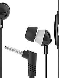 Q3 de haute qualité dans l'oreille avec micro pour iPhone / iPod / iPad et autres (couleurs assorties)