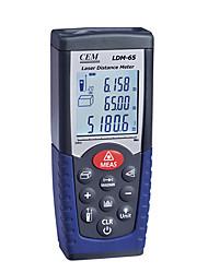 probador metro cem ldm-65 gama láser portátil area distancia buscador 0.05-70meters 0.16ft-229ft