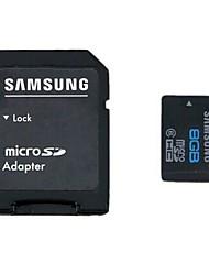 Original Samsung 8GB Class 6 microSDHC Speicherkarte mit SD-Adapter