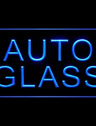 Auto Glass Advertising LED Light Sign