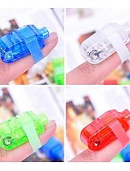 bunten LED-Laser-Fingerlicht (4 Stück)