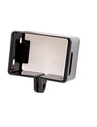 caja de plástico marco fijo portátil universal para GoPro héroe 3/3 +