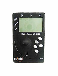 Professional Tuner + Metronome with Pickups For Guitar & Bass