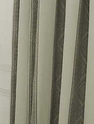 "European,Neoclassical Brown Stripe Cotton Jacquard Fabric (Fabric Weight-Heavy) - Width=55"" (140 cm)"
