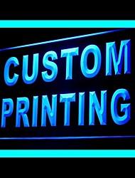 Custom Printing Advertising LED Light Sign