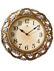 """22.8 """"Modèle Classic H floral vintage Horloge murale en polyrésine"""