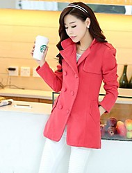 Women's Slim Tweed Trench Coat