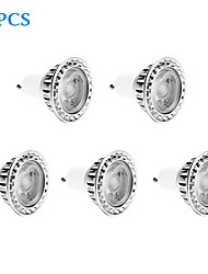 5 pcs GU10 10W 1 COB 810 LM Warm White Dimmable LED Spotlight AC 220-240 V