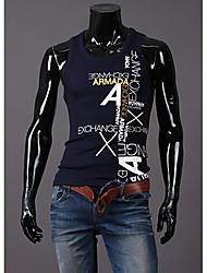 Imprimir gola redonda Floral Masculina MT Lazer Vest