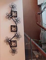 parede de metal arte do ferro parede decoração quadro extravagante romântico foto decoração da parede