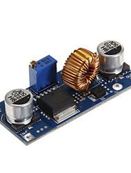 DC-DC модуль регулируемый понижающий радиатор мощность - синий (5а)