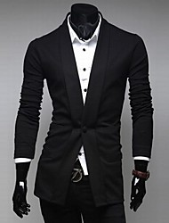 Zian® Men's Fashion Casual Single-Breasted Solid Color Slim Small Suit O