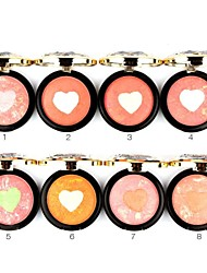 Multi-Colored Cheek Color Powder Baked Blush Palette Diamond Box Blusher By UBUB