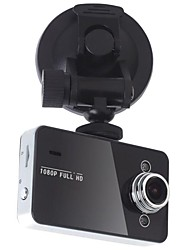 2,7-Zoll-Display Full-HD-1080P Dash Cam 140 Grad-Objektiv mit G-Sensor K6000 Auto Dvr