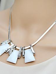 moda siyun high end geometria seção curta jóia colar