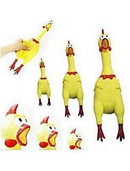 Nouveau choc Jouets 17cm décompression Jouets Large Extra Large poulet criard Turquie