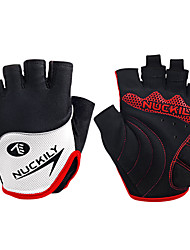 NUCKILY® Sports Gloves Women's / Men's / Unisex Cycling Gloves Spring / Summer / Autumn/Fall Bike GlovesAnti-skidding / Shockproof /