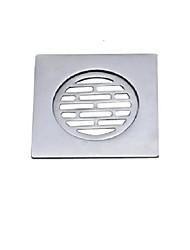 contemporânea acessórios do banheiro de bronze piso de material de drenagem