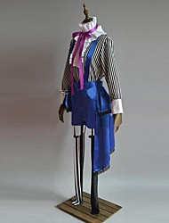 Inspired by Black Butler Ciel Phantomhive Anime Cosplay Costumes Cosplay Suits Patchwork Purple Long SleeveVest / Top / Pants / Hat / Tie