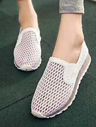Zeppa rotondi Mocassini punta delle donne con Hollow-out Shoes (altri colori)
