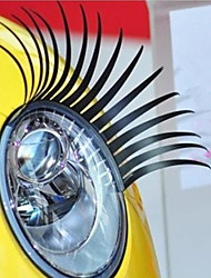 Ciglia auto adesivo decorativo Faro veicolo (coppia)